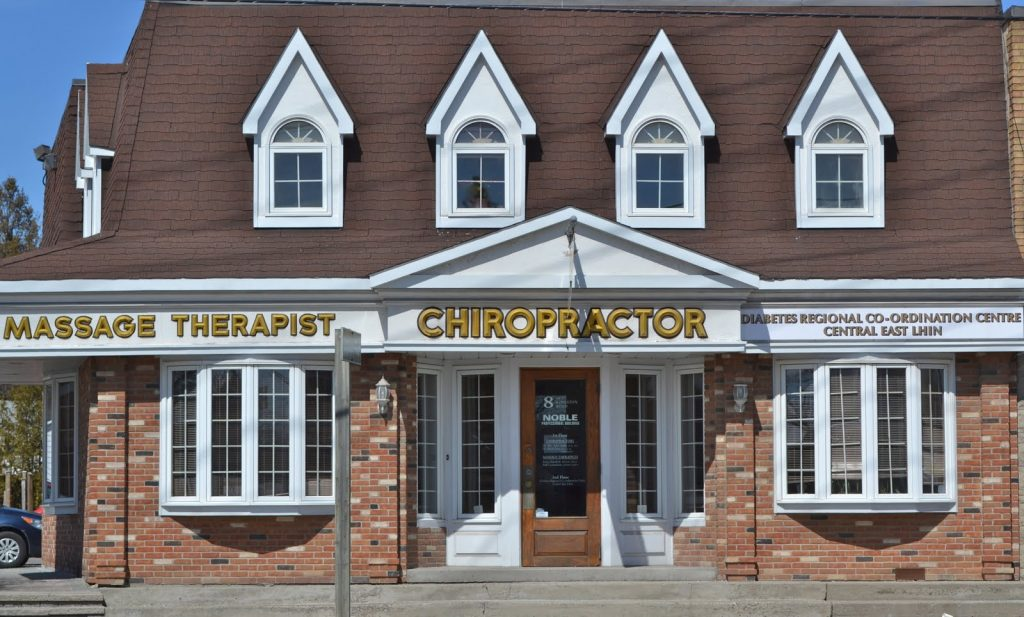 Pickering Village Chiropractic Clinic front